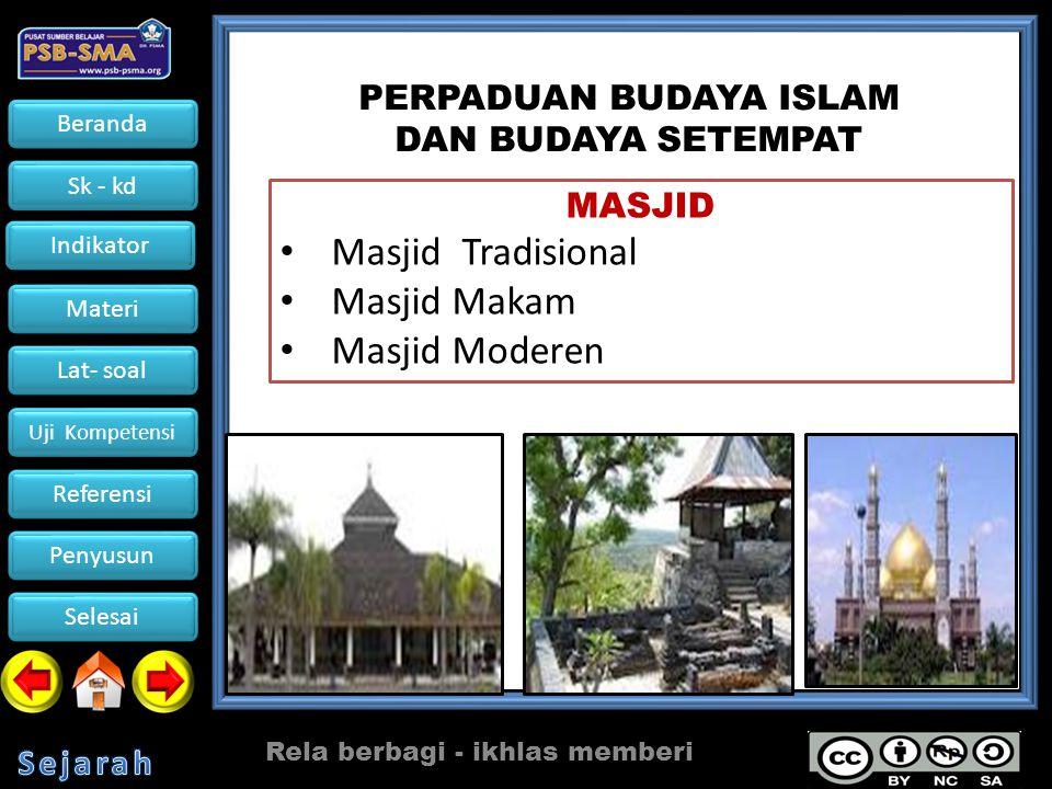 Beranda Sk - kd Indikator Materi Lat- soal Uji Kompetensi Referensi Penyusun Selesai Rela berbagi - ikhlas memberi Masjid Raya Biturrahman adalah sebuah masjid yang berada di pusat Kota Banda Aceh.