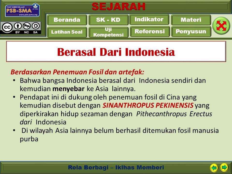 Beranda Latihan Soal Uji Kompetensi Referensi Penyusun SK - KD Indikator Materi Rela Berbagi – Iklhas Memberi Berasal Dari Indonesia Berdasarkan Penem