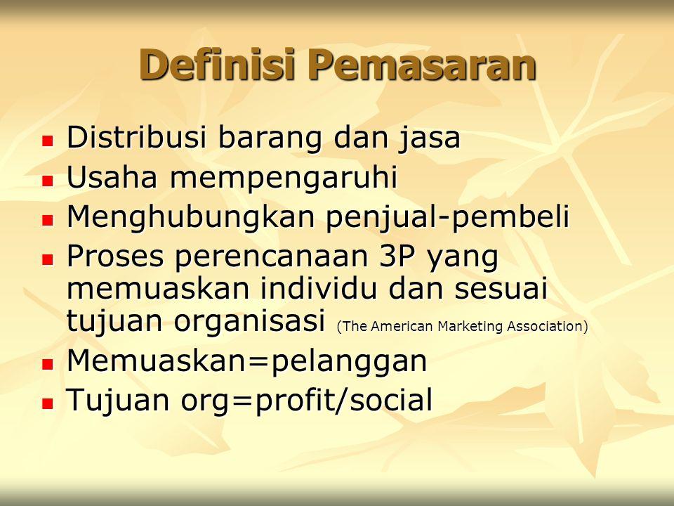 Personalized services Bersifat personal Bersifat personal Pelayanan langsung ditangani produsen Pelayanan langsung ditangani produsen Ada 3 golongan : Ada 3 golongan : 1.