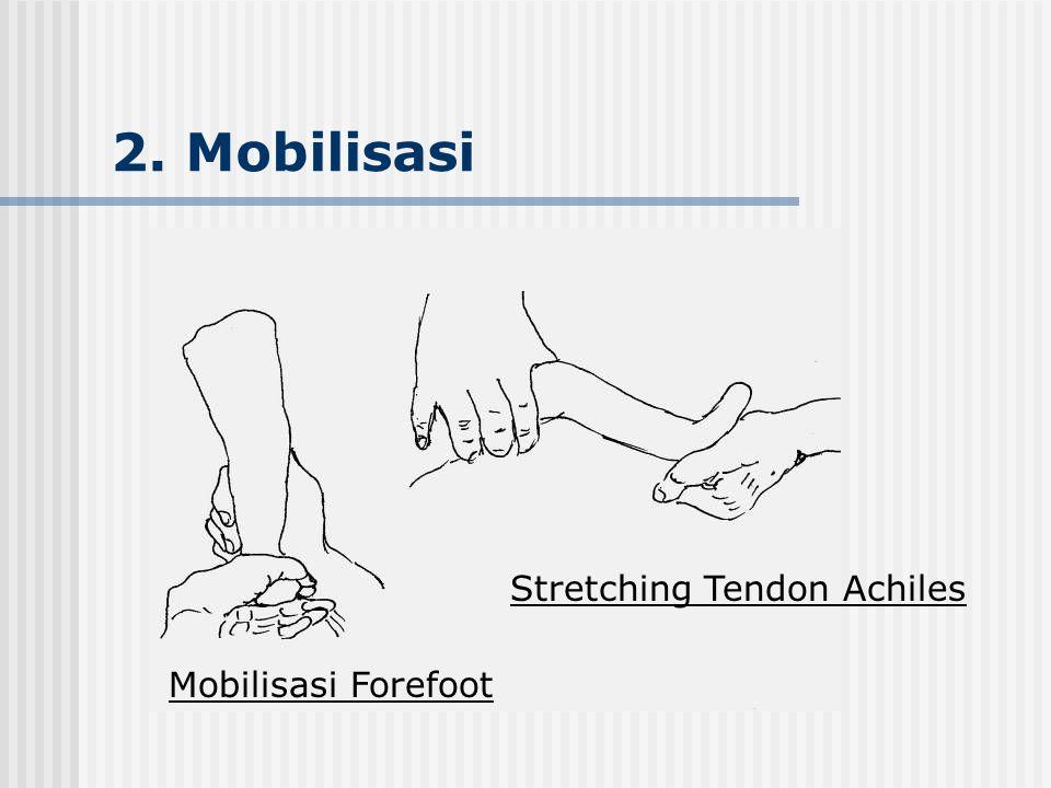 2. Mobilisasi Mobilisasi Forefoot Stretching Tendon Achiles