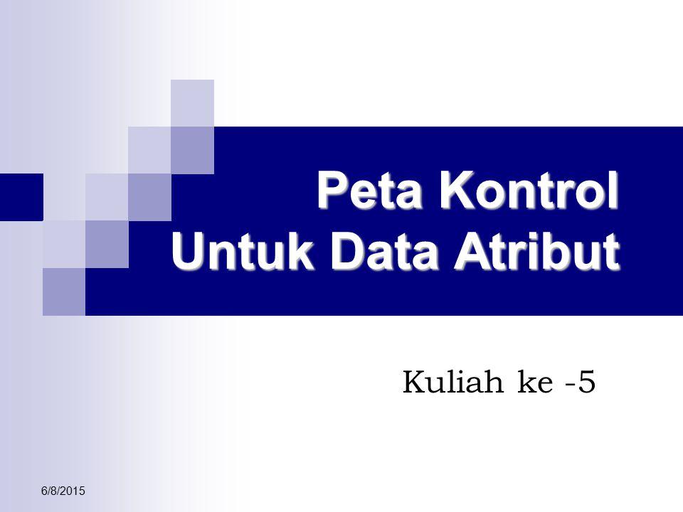 6/8/2015 Peta Kontrol Untuk Data Atribut Kuliah ke -5