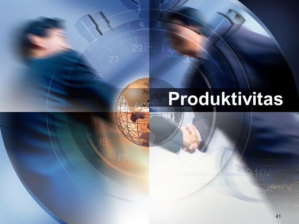 41 Produktivitas