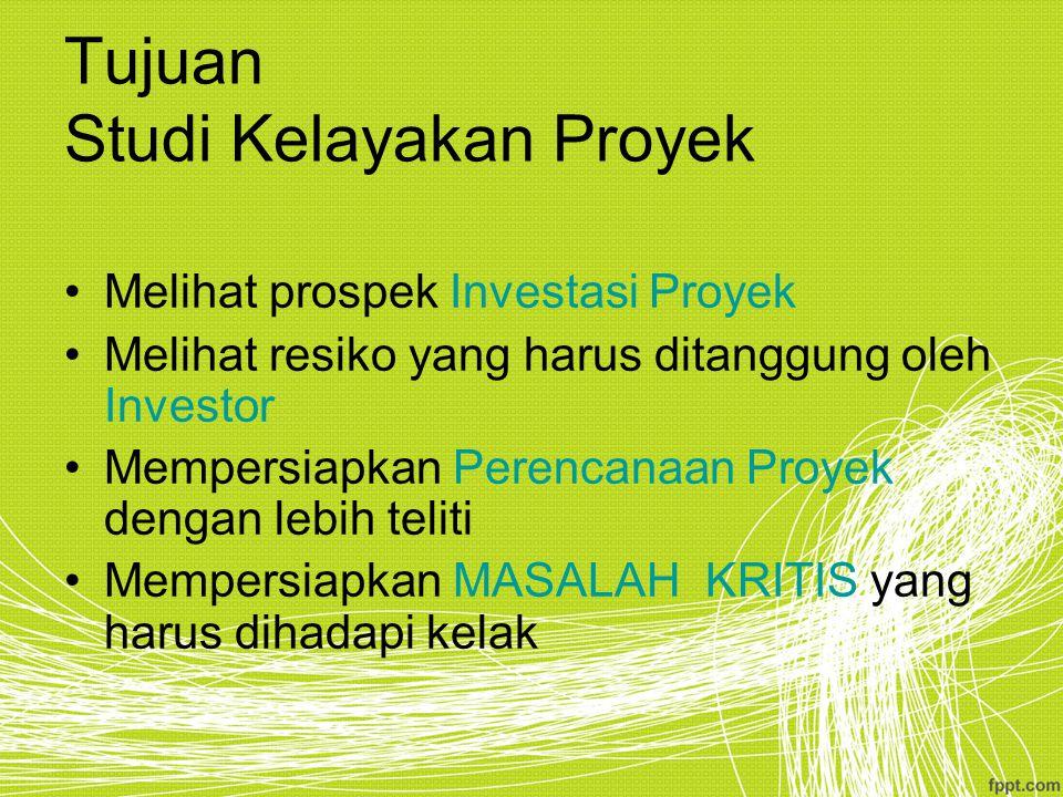 Marketing Mix Studi Kelayakan Proyek Komponen Utama 1.