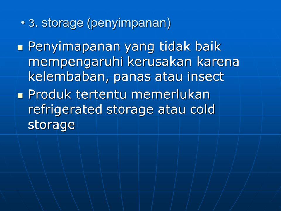 3. storage (penyimpanan) 3.