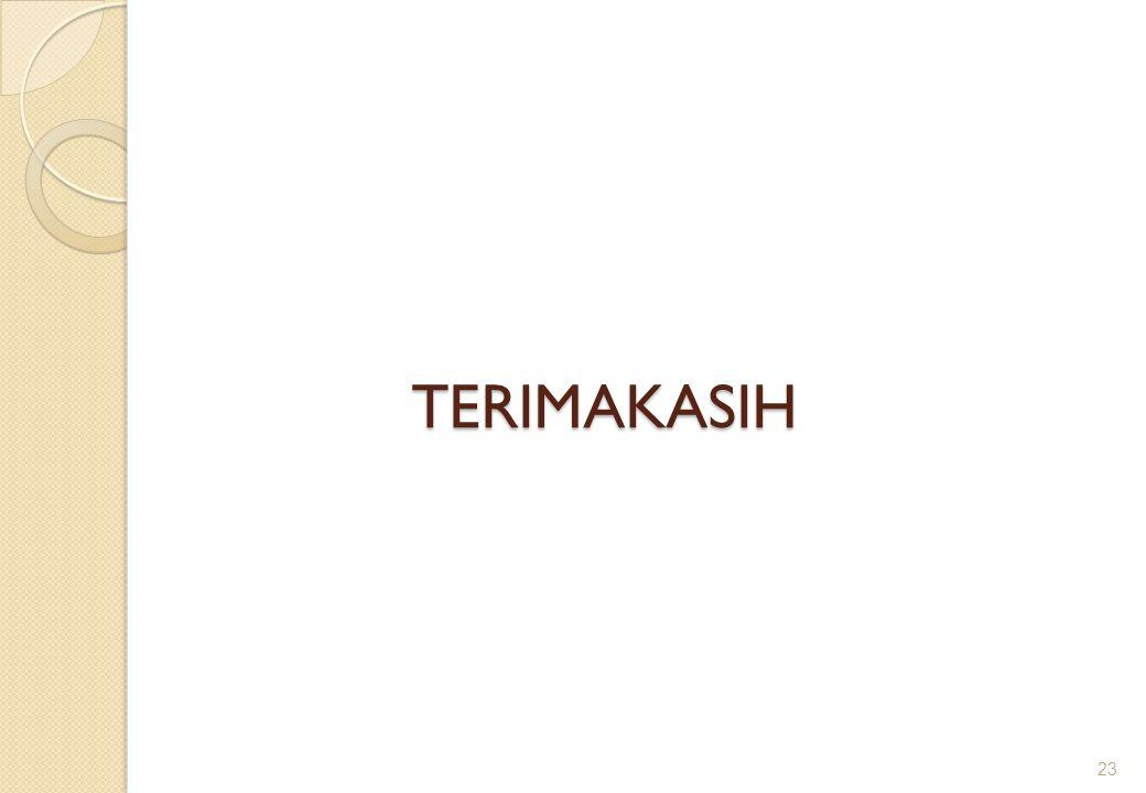 TERIMAKASIH 23