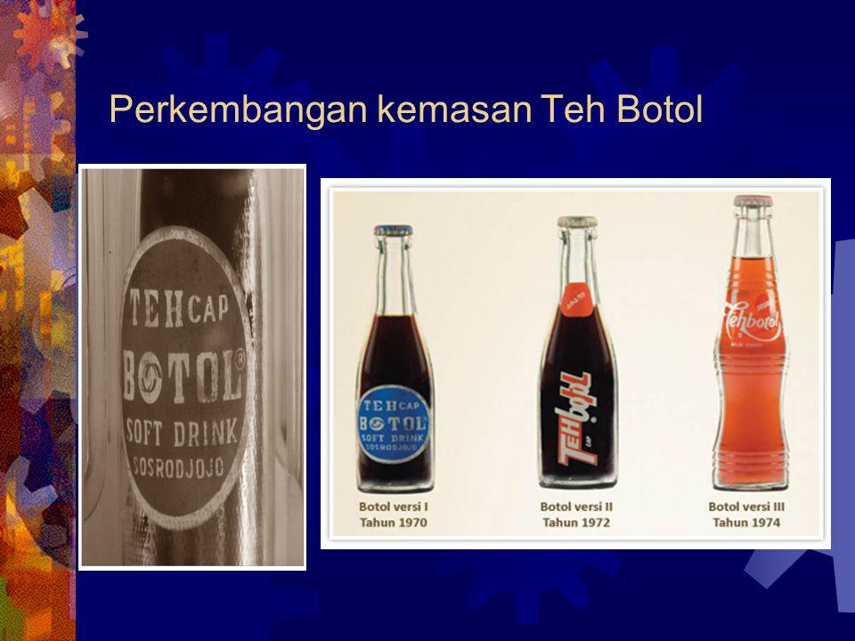 Perkembangan kemasan Teh Botol