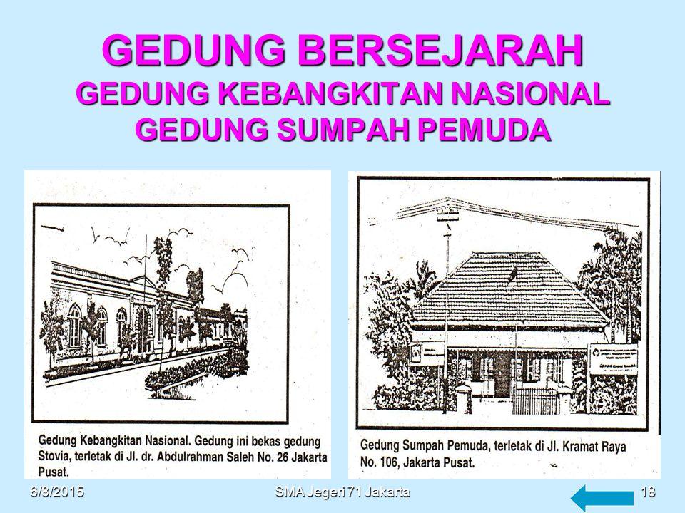 GEDUNG CAGAR BUDAYA MUSEUM NASIONAL (GEDUNG GAJAH) 6/8/201517SMA Jegeri 71 Jakarta