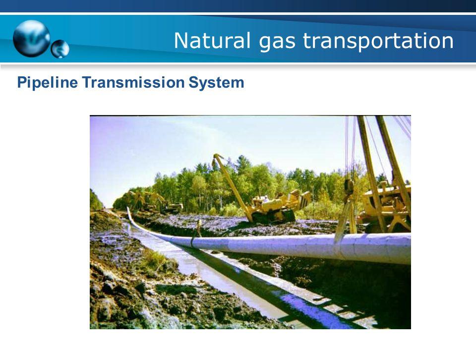 Natural gas transportation Pipeline Transmission System