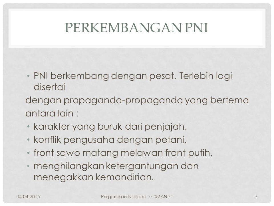 Foto propaganda PNI 04-04-20158Pergerakan Nasional // SMAN 71