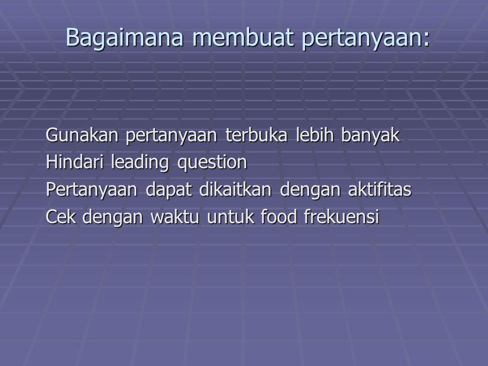 Praktek menaksir berat makanan dalam ukuran rumah tangga: Tujuan: Setelah melakukan praktik mahasiswa mampu menaksir bahan makanan menurut URT.