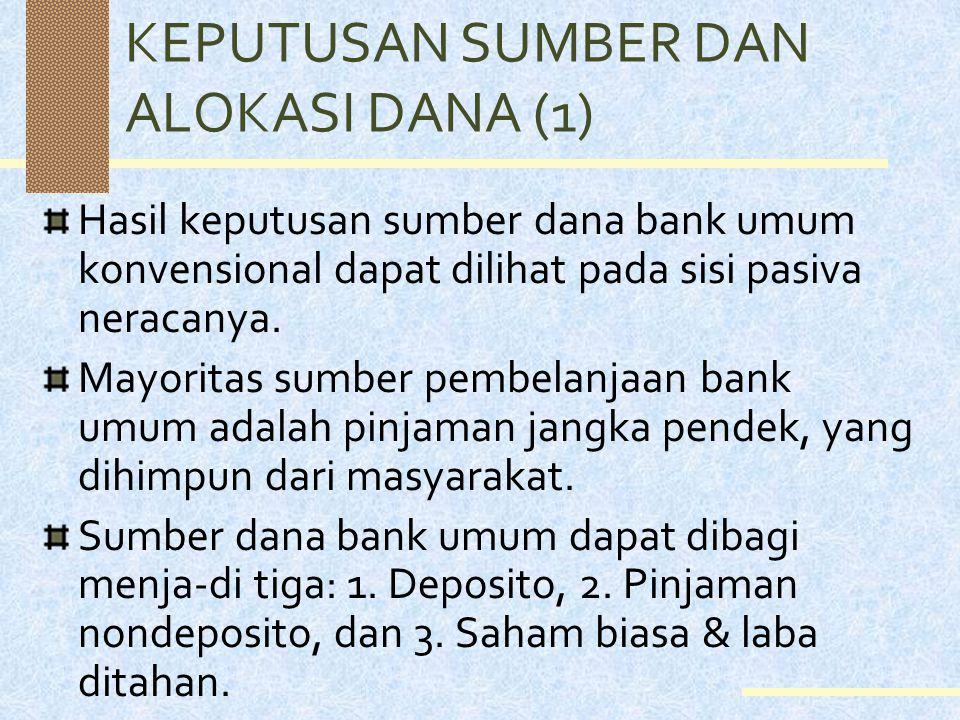 KLASIFIKASI BANK (7) Pengklasifikasian bank ini tidak dapat secara kaku diterapkan saat ini, mengingat fenomena kepemilikan bank di Indonesia pasca kr