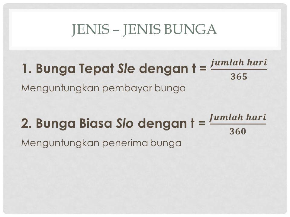 JENIS – JENIS BUNGA