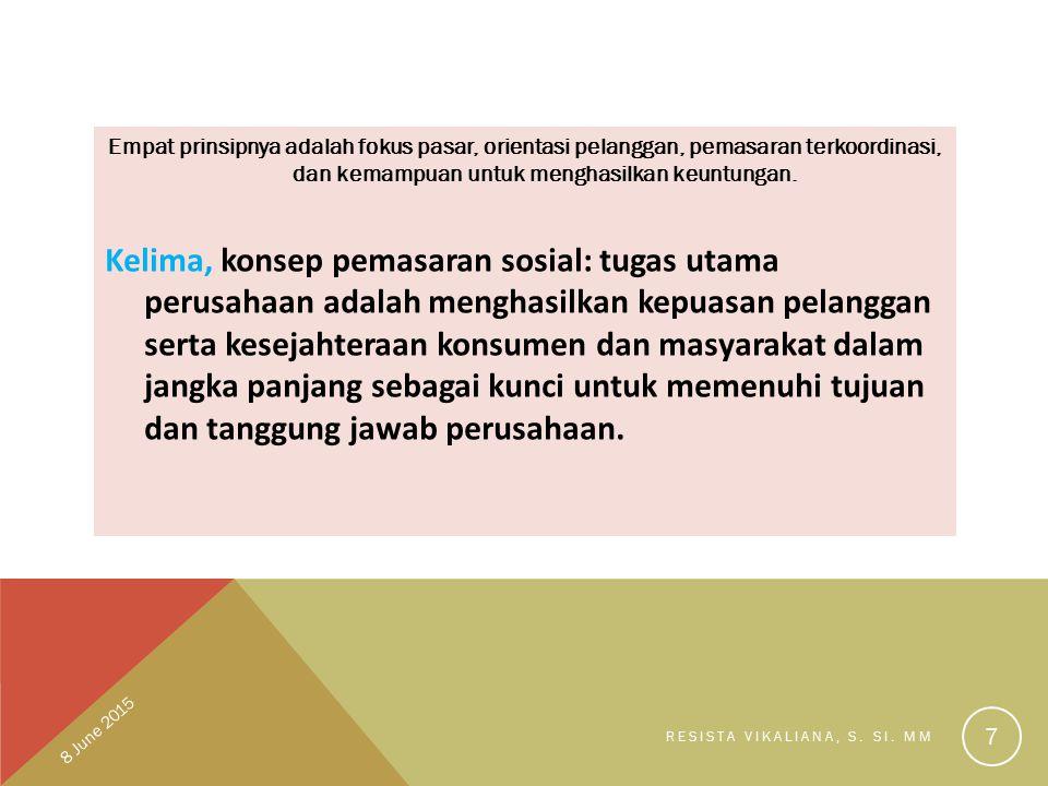 KONSEP BAURAN PEMASARAN Kotler (1997) mendefinisikan seperangkat alat yang digunakan perusahaan untuk mencapai tujuannya.