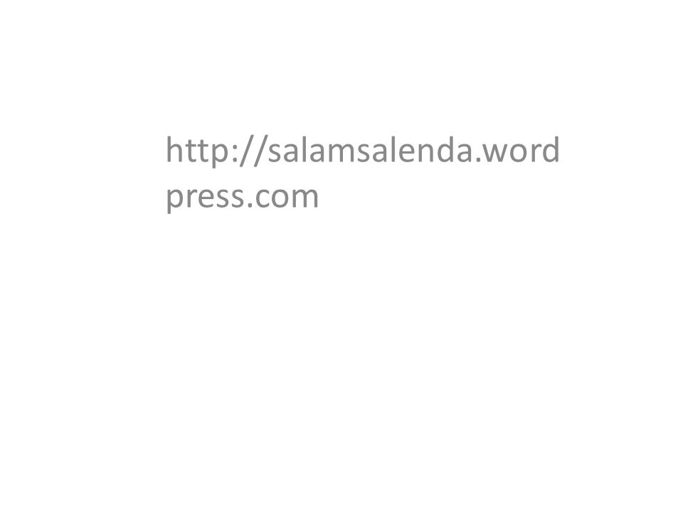 http://salamsalenda.word press.com