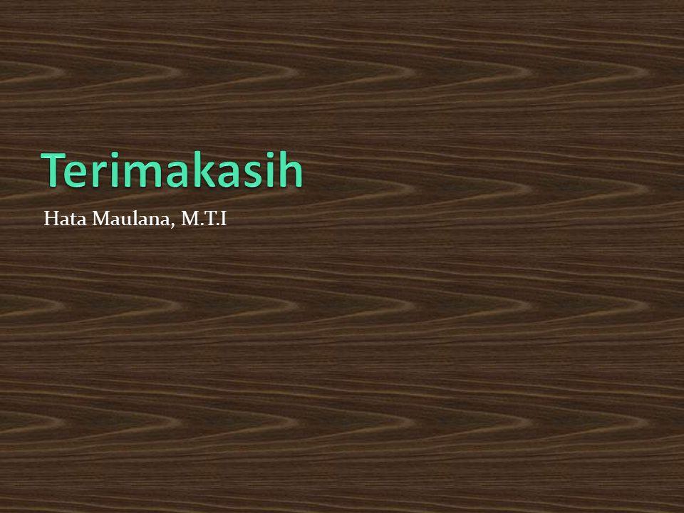 Hata Maulana, M.T.I