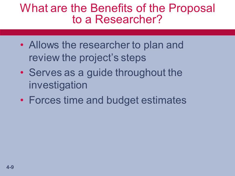 4-10 Types of Research Proposals Internal External