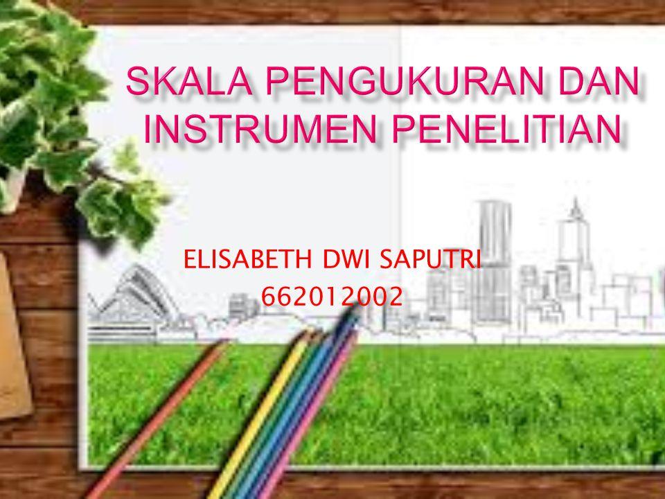 ELISABETH DWI SAPUTRI 662012002
