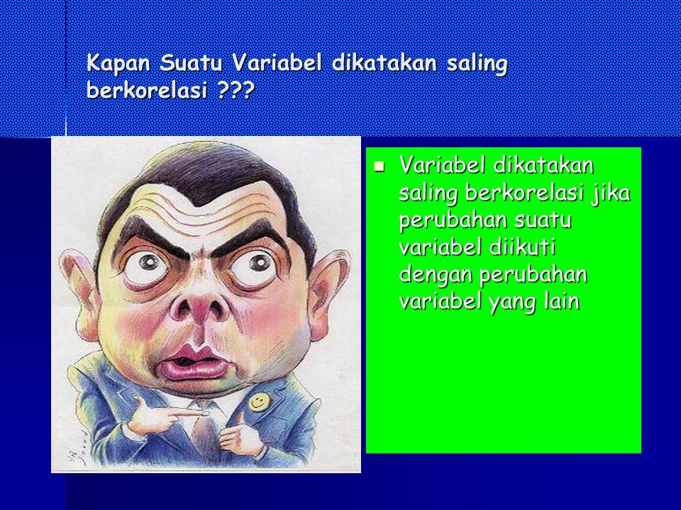 Contoh2x Korelasi Pupuk dengan produksi panen Pupuk dengan produksi panen Biaya iklan dengan hasil penjualan Biaya iklan dengan hasil penjualan Berat