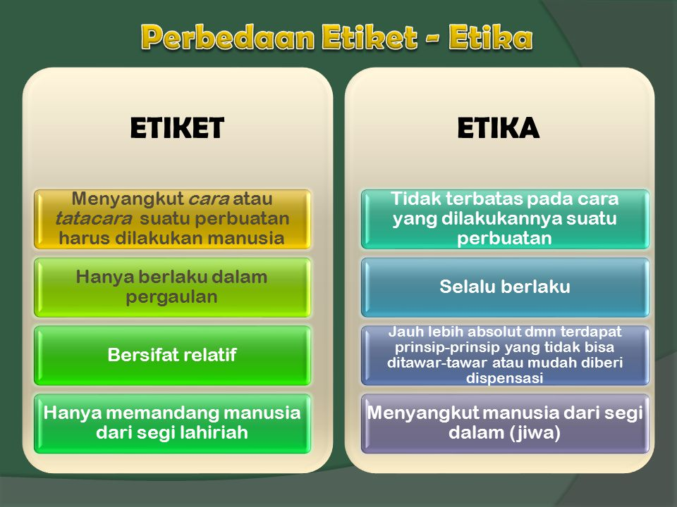 EUDEMONISME  Aristoteles (384-322 SM)  Ethika Nikomaheia : Setiap kegiatannya manusia mengejar suatu tujuan seseorang  Tujuan terakhir manusia  menjalankan fungsinya sbg manusia dengan baik  Kebahagiaan