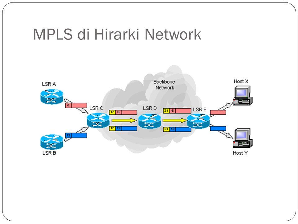MPLS di Hirarki Network