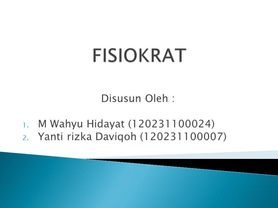 Disusun Oleh : 1. M Wahyu Hidayat (120231100024) 2. Yanti rizka Daviqoh (120231100007)