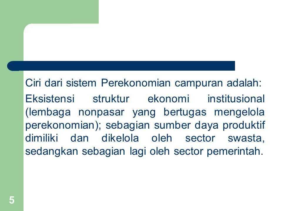 6 Secara umum, model perencanaan ekonomi yang sangat luas dan bervariasi itu dapat dipilah menjadi dua kategori dasar, yaitu: 1.