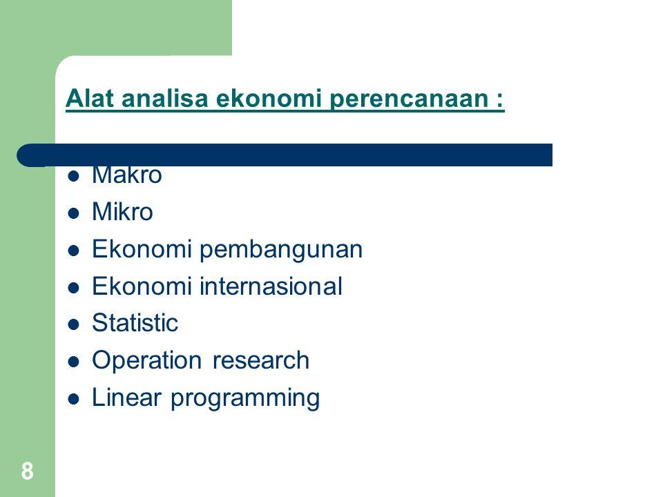 9 Kelemahan apabila kegiatan pembangunan ekonomi diserahkan kepada pasar 1.