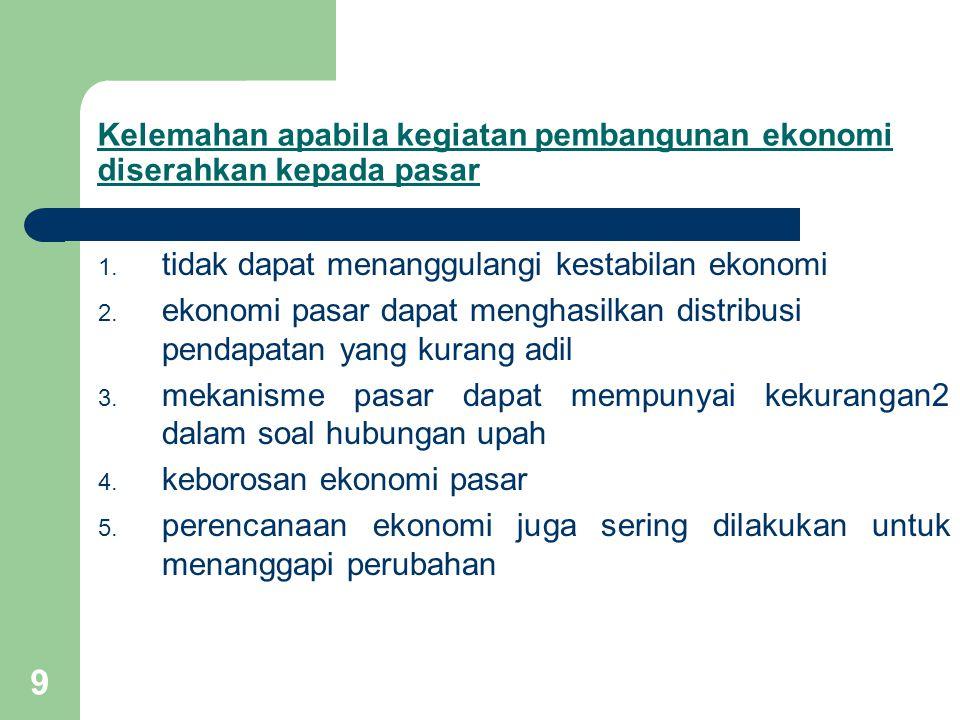 20 2.Perencanaan Jangka Menengah (3-8 tahun) Paling banyak dipakai oleh negara-negara karena : a.