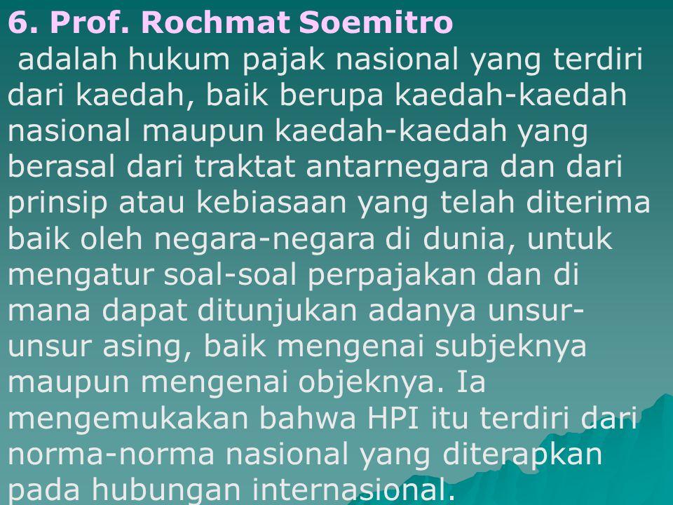Pengertian HPI 5.Prof. Mr. H. J.