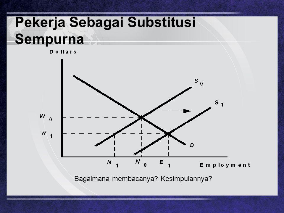 Pekerja Sebagai Substitusi Sempurna Bagaimana membacanya? Kesimpulannya?