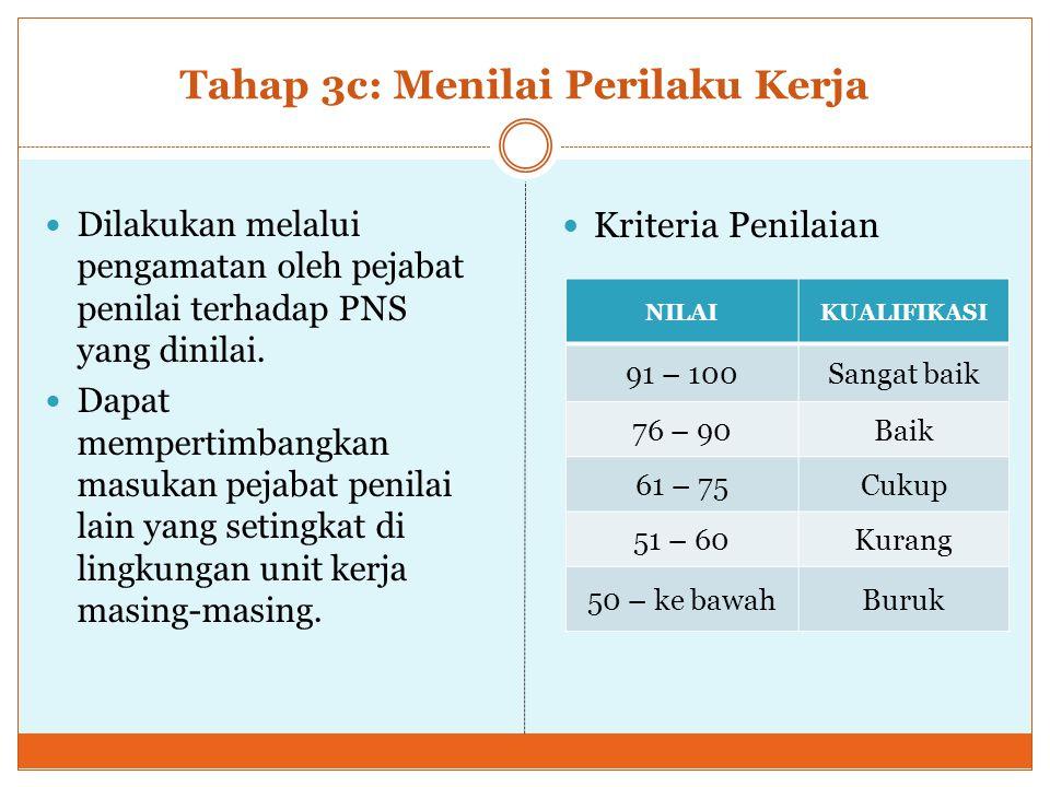 Form Penilaian SKP Diisi pada akhir tahun anggaran berjalan (Desember 2014) Anak Lampiran I-e Perka BKN 1/2013 Hal.