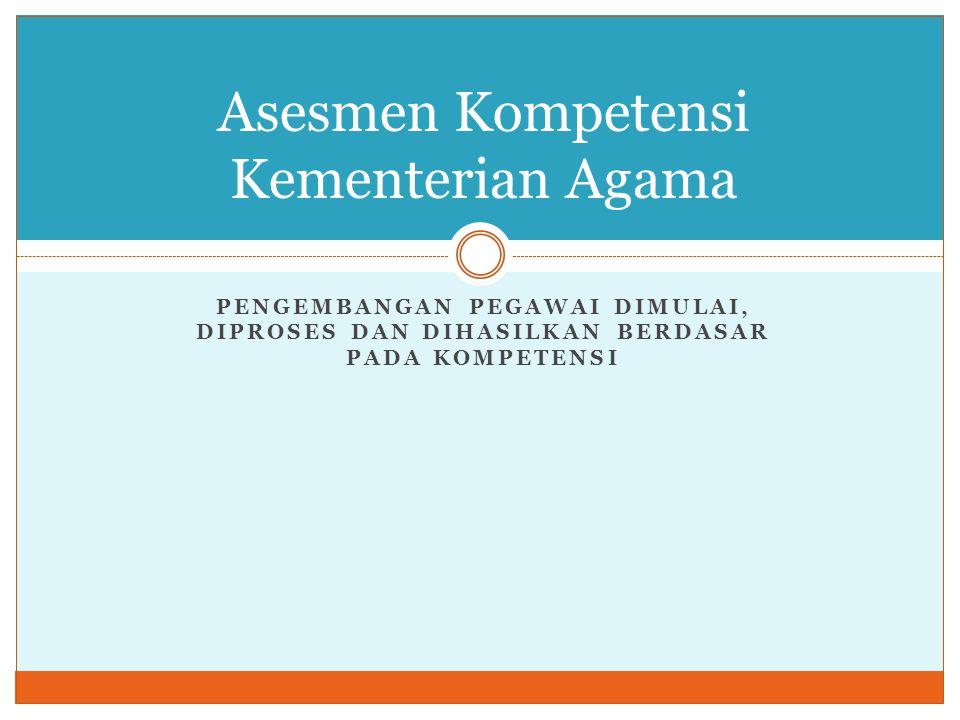 + Penyusunan Rekomendasi Pejabat penilai dapat memberikan rekomendasi berdasarkan hasil penilaian prestasi kerja sbb: 1.