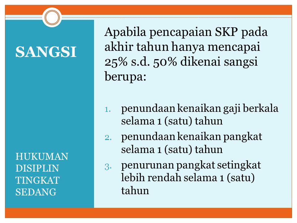 Short Statement DP3 tidak berlaku lagiSKP berlaku bagi PNS dan CPNS SKP berlaku efektif 1 Januari 2014 & harus ditetapkan Januari 2014 PNS tidak menyusun SKP & atasan yang tidak menilai SKP dikenai hukuman disiplin