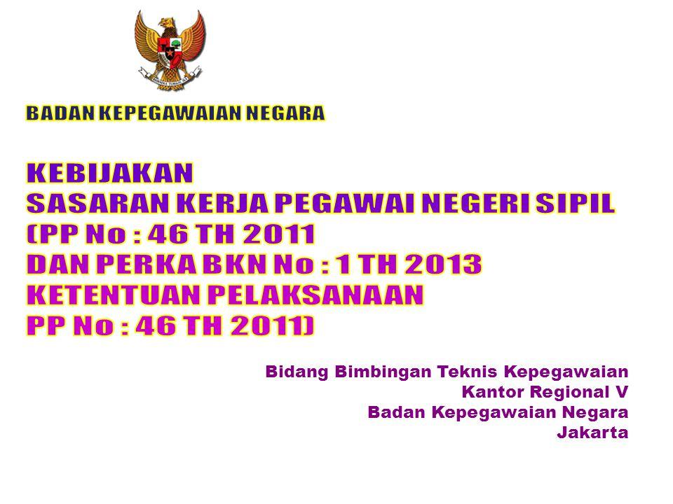 Bidang Bimbingan Teknis Kepegawaian Kantor Regional V Badan Kepegawaian Negara Jakarta