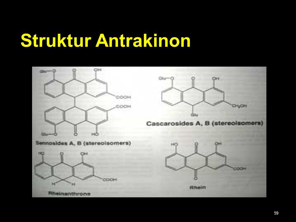59 Struktur Antrakinon