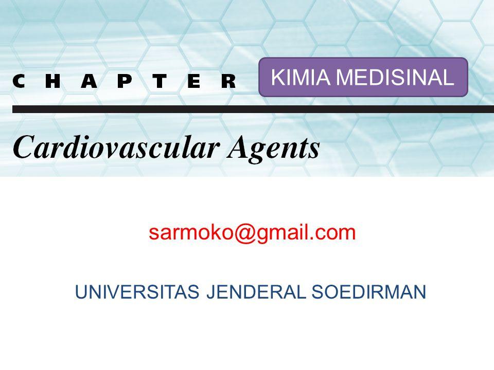 sarmoko@gmail.com KIMIA MEDISINAL UNIVERSITAS JENDERAL SOEDIRMAN