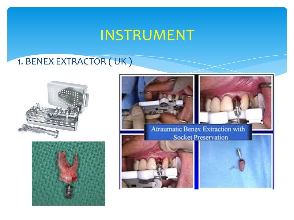 1. BENEX EXTRACTOR ( UK ) INSTRUMENT