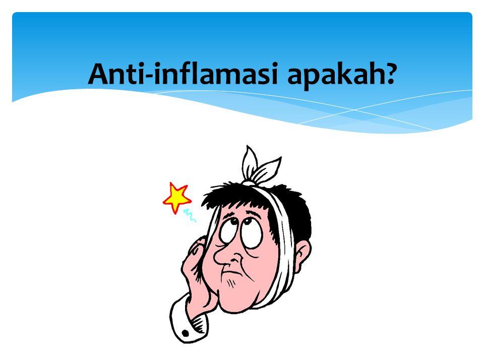 Anti-inflamasi apakah?