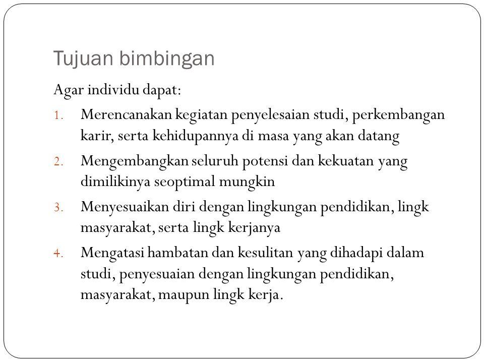 Tugas Perkembangan Remaja Menurut Syamsu Yusuf ( 2004 : 72 ), tugas perkembangan remaja, yaitu : 1.