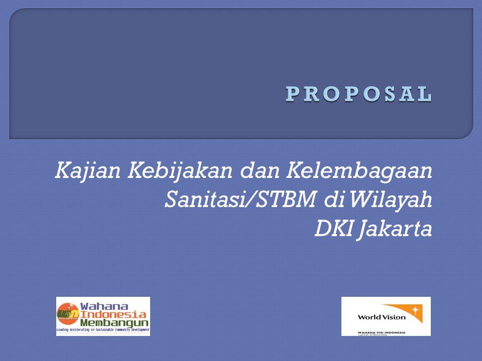 Kajian Kebijakan dan Kelembagaan Sanitasi/STBM di Wilayah DKI Jakarta