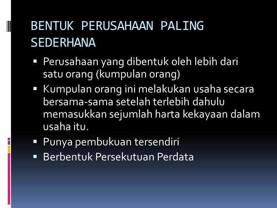 READING ASSESMENT  Pasal 16 – 35 Kitab Undang-Undang Hukum Dagang  Pengertian Pokok Hukum Dagang Indonesia 2, Bentuk-bentuk Perusahaan.