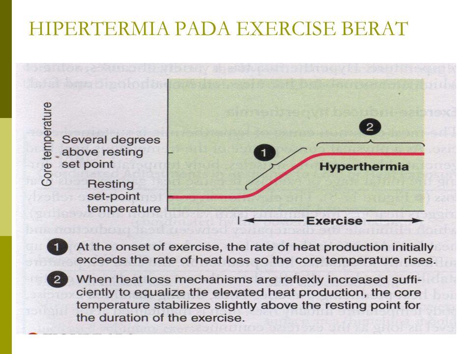 HIPERTERMIA PADA EXERCISE BERAT