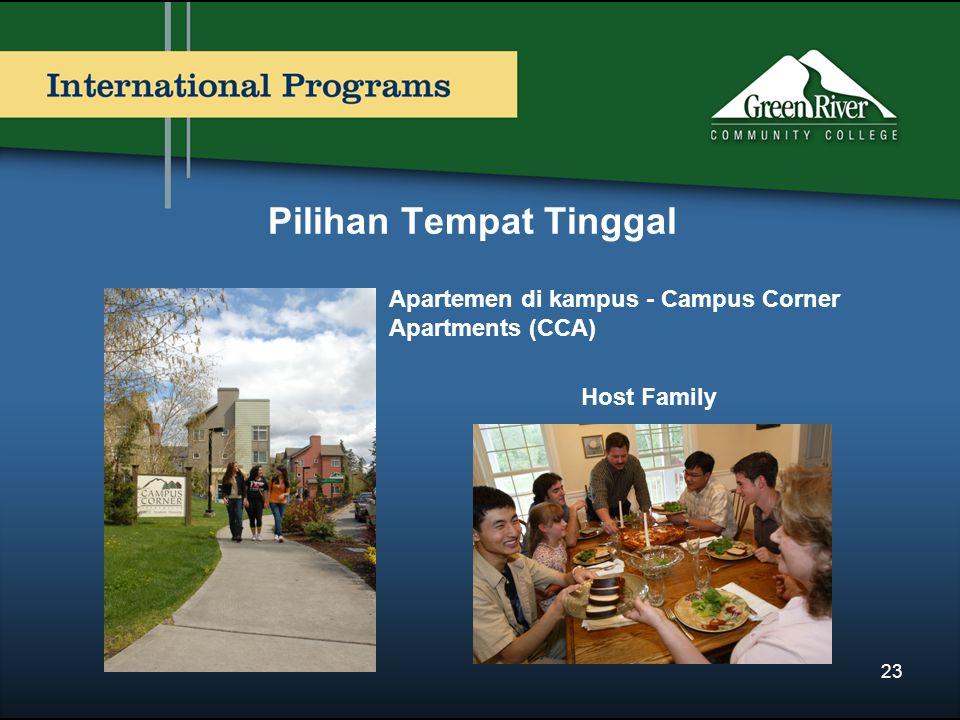 Pilihan Tempat Tinggal Apartemen di kampus - Campus Corner Apartments (CCA) Host Family 23