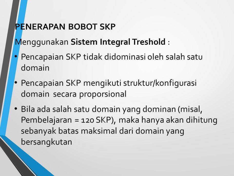 Target SKP Dalam 5 (lima) tahun dibutuhkan 150 SKP yang terbagi dalam 5 (lima) Kinerja Pencapaian SKP dalam 5 (lima) tahun diharapkan terdistribusi de