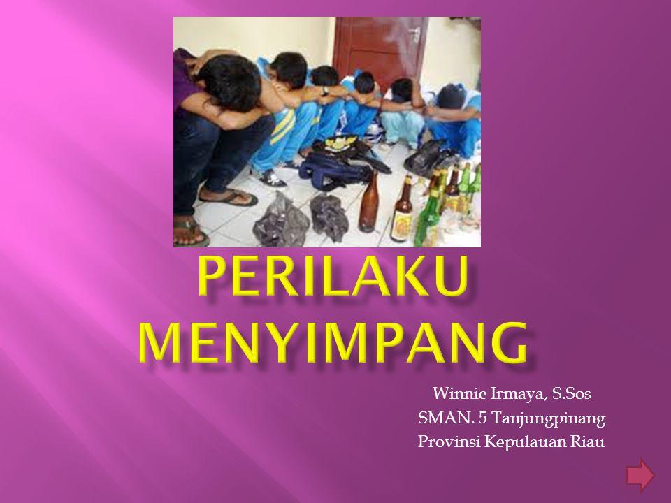 Winnie Irmaya, S.Sos SMAN. 5 Tanjungpinang Provinsi Kepulauan Riau