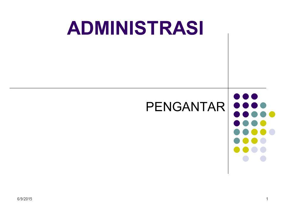 6/9/201512 Tingkat tingkat manajemen pada organisasi Negara / Niaga I A MTA I.B II MTM III MTB IV V 92 % 90 % K.A/M 8% 10% 85 % K.A/M K.T.O 15 % 70 % 30 % 55% K.T.O 45 % 40% 60 %