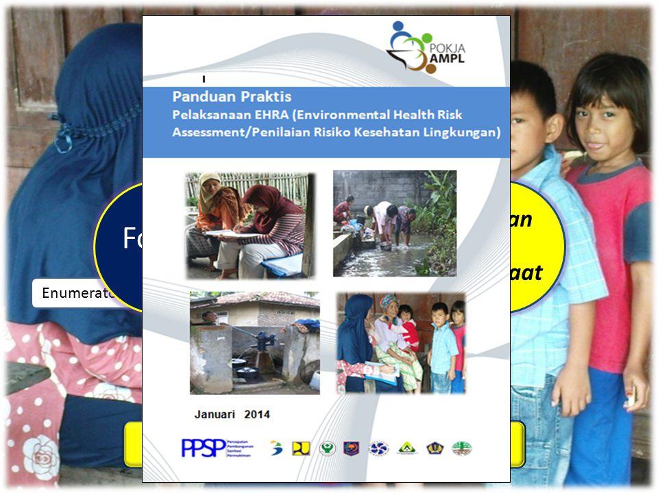 EHRA Bagian dari Substansi BPS  Aspek akses terhadap Perilaku Higiene dan Sanitasi  (Bab 3 Banitasi) Profil akses masyarakat terhadap fasilitas sanitasi serta hubungannya dengan Perilaku Higiene dan Sanitasi (data primer)