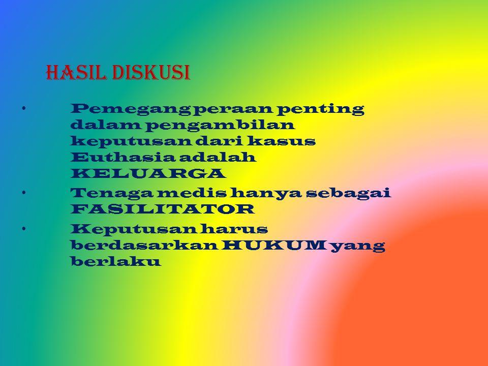 e. Kerangka pembuatan keputusan etis -Nilai dan kepercayaan pribadi -Kode etik perawat Indonesia keputusan -Konsep moral keperawatan tindakan moral -T