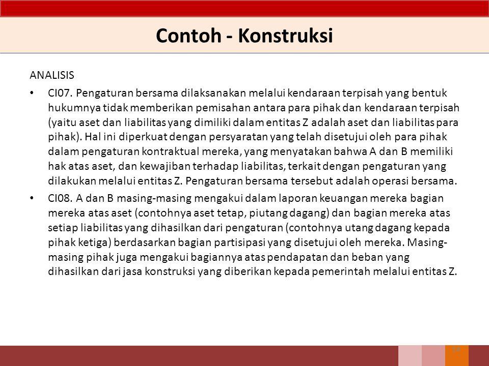 Contoh - Konstruksi ANALISIS CI07.