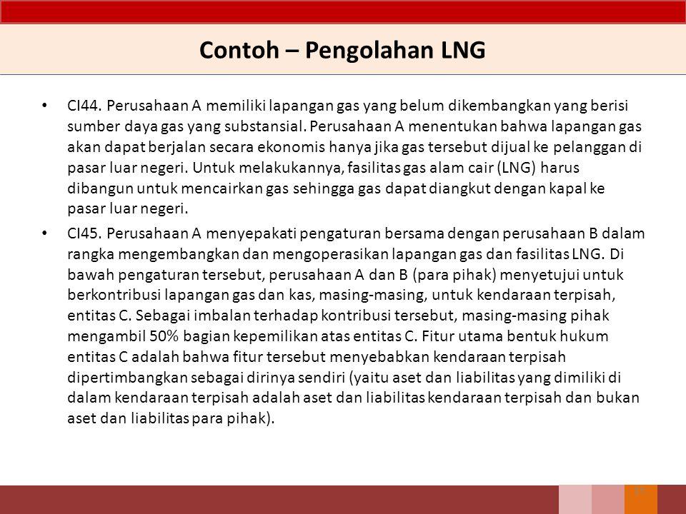 Contoh – Pengolahan LNG CI44.